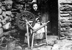 spinning wool Shetland Islands Its pretty amazing to look at that spinning wheel and realize I have one that looks almost exactly like it in my living room
