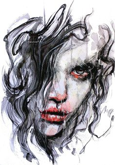my paintings by Chiara Aime, via Behance