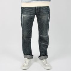 NEIGHBORHOOD : Rivet Savage Jeans - Mid Lvl 4 - Someday Store