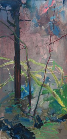 Painter's Process - Randall David Tipton: Coastal Rainforest[s]