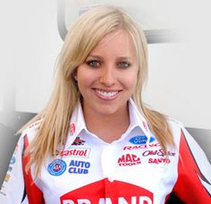 John Force Racing - Brittany Force - Top Fuel Driver.  Looking forward to the 2013 season!!!