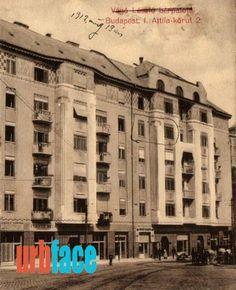 A mai Krisztina körút 1910 körül