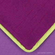 Sewing With Nancy Zieman How to use a serger. How to sew piping with a serger.