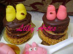 Mini Naked Cake Peppa Pig