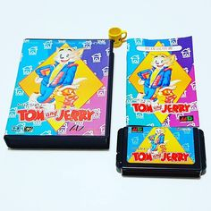 Don't miss this one by retronutz #retrogames #microhobbit (o) http://ift.tt/1Wb4baO addition to my Japanese Sega Mega Drive cartridge collection. TOM and JERRY  #sega #megadrive #tomandjerry #altron #retrocollective #retrogaming #retrogamers #vintagegames #japangames #cartridgegames #consolegaming #consolegames  #videogames #segagaming