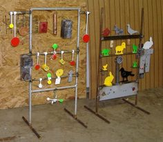 DIY plinking range Shooting Targets, Shooting Sports, Archery Targets, Welding Projects, Projects To Try, Metal Projects, Paintball, Outdoor Shooting Range, Field Target