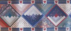 Interior Place - Blue Denim Patches Hearts  Wallpaper Border, $11.99 (http://www.interiorplace.com/blue-denim-patches-hearts-wallpaper-border/)