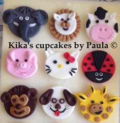 Cupcake toppers made to your requirements