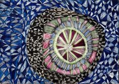 "HOPE Artist Christie Cook	 Christie's passion is to create intricate, multi-layered designs translated into a wide range of mediums.  She is equally facile in the arenas of painting and drawing as well as fiber art.  Her symmetrical compositions often portray symbolic imagery with an almost iconic treatment.  Christie also loves to dance and brings as much emotion into her dance performances as she does her visual artwork.  She credits her Grandmother as her source of inspiration.  ""My…"