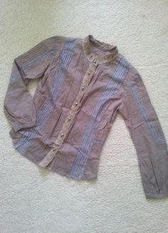 Įsigyk mano drabužį #Vinted http://www.vinted.lt/moteriski-drabuziai/marskiniai/21331451-rudi-marskinukai-su-neriniais-ilgomis-rankovemis