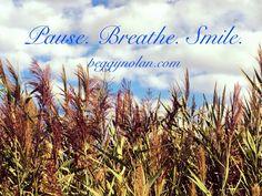 Pause. Breathe. Smile. #yoga #meditation #happiness