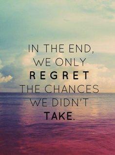 #MondayMantra: Take a chance today
