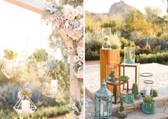 Both of these ceremony backdrops are stunning!