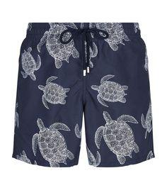 VILEBREQUIN Bleu Marine Moorea Swim Shorts. #vilebrequin #cloth #