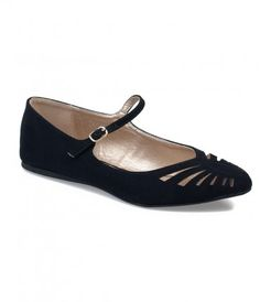In the mood for a plucky pair of shoes, dear? A cheeky pair of darling suede flats that effortlessly harness casual char...Price - $25.00-4B7LioTM