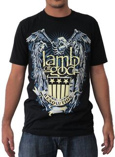 Lamb of God Resolution T-shirt (Large) Resolutions, Lamb, Baby Sheep 7f089a9503