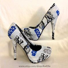Hey, I found this really awesome Etsy listing at https://www.etsy.com/listing/248775409/star-wars-r2d2-heels