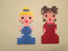 Disney Cinderella and Stepmother Perler Beads by SongbirdBeauty