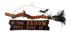 Halloween Witch Hanging Wall and Door Signs | Halloween Wikii