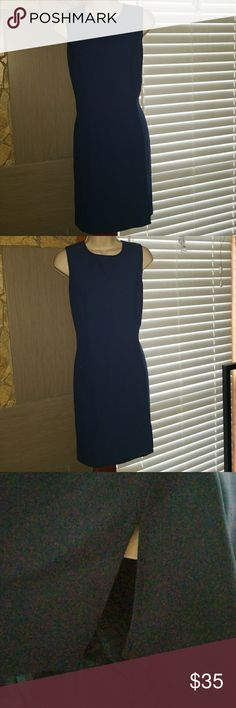I.N.C International concepts women's blue dress I.N.C International concept women's blue hidden zippered back dress, with a small split on left front of dress really nice, above the knee. I.N.C International Concepts Dresses Mini