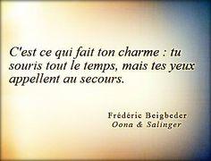 """Frédéric Beigbeder """"Oona & Salinger"""""""