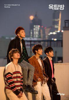 N.Flying dévoile des photos teasers pour Rooftop K-GEN Jaehyun, K Pop, Flying Together, All About Kpop, Steve Aoki, Fandom, Korean Wave, Fnc Entertainment, Kdrama Actors