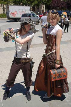 Fanime Con 2010: Steampunk Women by earthdog, via Flickr