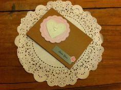 Handmade valentines day card by LittleBOD on Etsy, £1.65