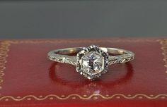 Simple, pretty wedding ring