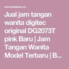 Jual jam tangan wanita digitec original DG2073T pink Baru | Jam Tangan Wanita Model Terbaru | Bukalapak