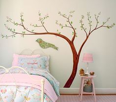 I love the Cherry Blossom Decal on potterybarnkids.com