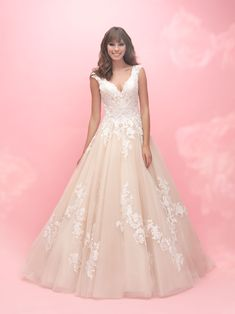 Available at Something Blue Bridal! #weddinggown #plussize #allurebridals