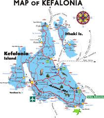 map of kefalonia check it out at wildlifesensecom greece
