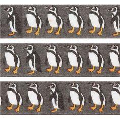 grey penguin paper deco tape by Prime Nakamura 2