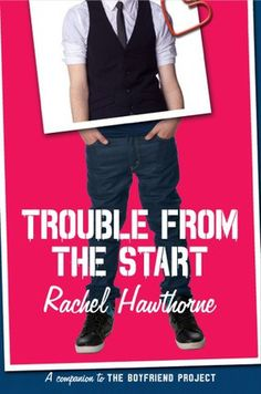 Cute YA Romance: Trouble from the Start by Rachel Hawthorne  Read my book review: http://www.bookbinger.com/cute-ya-romance-trouble-from-the-start-by-rachel-hawthorne/