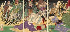 The Fever - Tsukioka Yoshitoshi