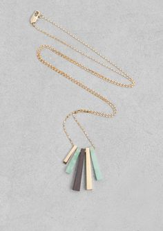 Lara Melchior stone necklace | & Other Stories