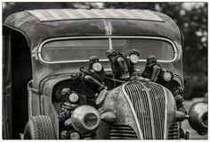 Radial engine hot rod