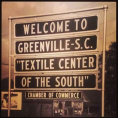 Hometown! Greenville, South Carolina