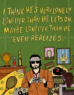 Richie Tenenbaum from The Royal Tenenbaums (2001)