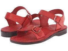 Jerusalem Sandals The Original - Womens Red - Zappos.com Free Shipping BOTH Ways