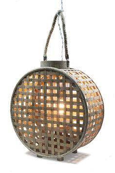 IRAZU, válida como porta vela, lámpara de techo, mesa o pared.