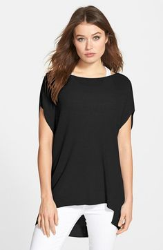 Free shipping and returns on Eileen Fisher Linen Blend Bateau Neck Tunic (Online Only) at Nordstrom.com. A breezy linen blend adds easy elegance to a bateau-neck layering tunic framed by short dolman sleeves. An elliptical hem that dips lower in the back keeps the style fresh.