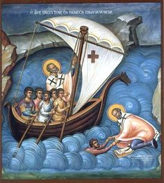 St. Nicholas, patron of Sailors.