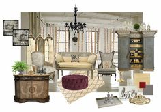 Check out this moodboard created on @olioboard: Elegant Loft Living by yearleyinteriors