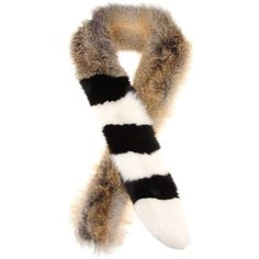 Off-White Fur Scarf ($2,415) ❤ liked on Polyvore featuring accessories, scarves, grey, fur shawl, colorful shawls, grey scarves, grey shawl and gray shawl