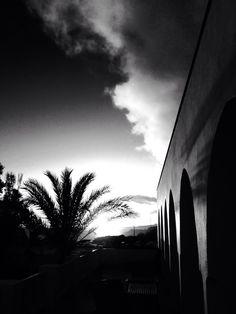 Sunset at Hurricane Hotel