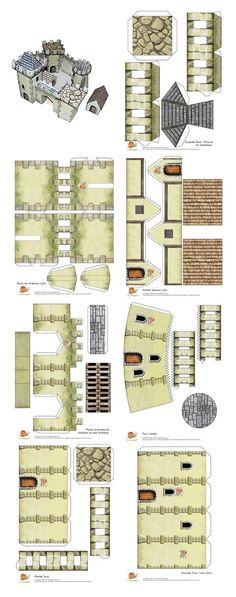 paper castle: