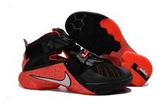 promo code 9b494 438b3 Find Online Nike LeBron Soldier 9 Black Red Basketball Shoe online or in  Yeezyboost. Shop Top Brands and the latest styles Online Nike LeBron  Soldier 9 ...