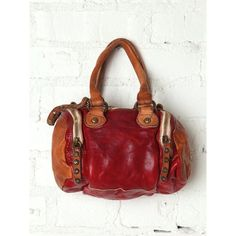 Campomaggi Bauletto Mini Satchel via Polyvore